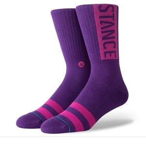 Stance OG Purple Crew Height Sock